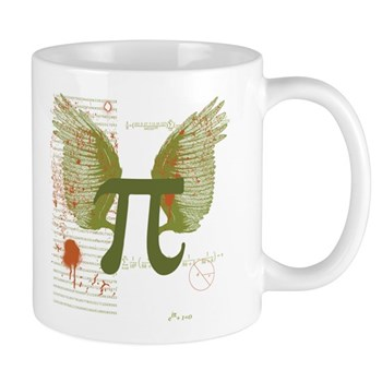 Winged Pi Mug | Gifts For A Geek | Geek T-Shirts