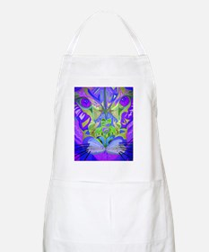 abstract cougar-purple Apron