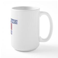 go_yanks_flag Mug