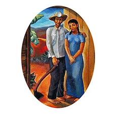Guajiros Oval Ornament