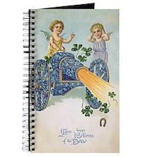 Lucky St. Patricks Day Journal