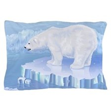 Polar Bear Pillow Case