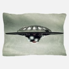 UFO Grunge Pillow Case