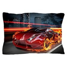 Hot Car Fantasy Pillow Case