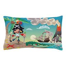 Pirate Cartoon Pillow Case