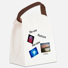 tote bag back Canvas Lunch Bag