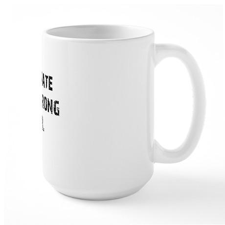 obstinate_girl2 Large Mug