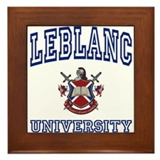 LEBLANC University Framed Tile