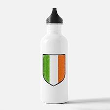 irish-flag-crest Water Bottle