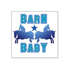 "Barnbabyjumpboy Square Sticker 3"" x 3"""