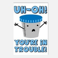 youre-in-trouble_tr Postcards (Package of 8)