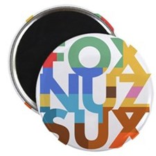 Fox_Nuz_Sux_2 Magnet