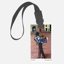 The Tin Seller Journal Luggage Tag