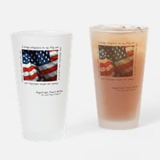 2-flag Drinking Glass