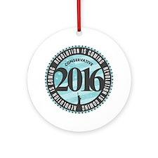 Conservative Revolution 2016 Ornament (Round)