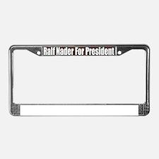 Ralf-Nader-For-President-Bumpe License Plate Frame