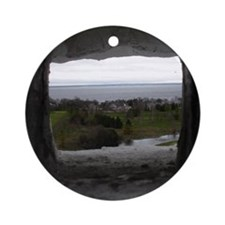 Mackinac Island Round Ornament