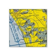 "SD TAC Shirt Polo Template Square Sticker 3"" x 3"""