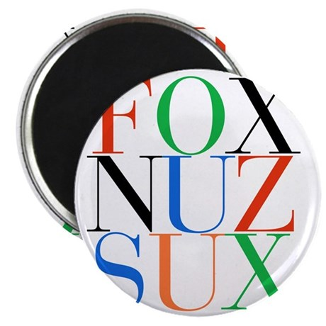 Fox_Nuz_Sux_1 Magnet