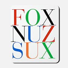 Fox_Nuz_Sux_1 Mousepad