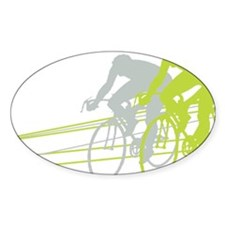 Bicycle Racers Decal
