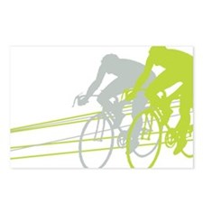 Bicycle Racers Postcards (Package of 8)