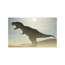Roaring Dinosaur Area Rug