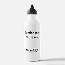 remindersticker3 Water Bottle