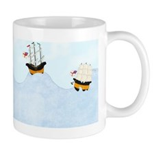 On the Rolling Sea 6 x 5 Mug