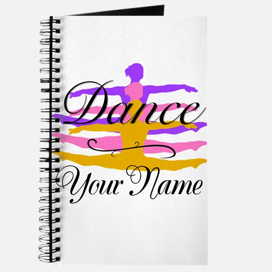 Dance Customizeable Journal