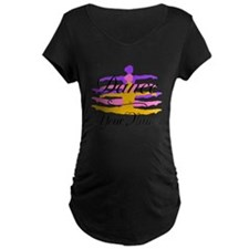 Dance Customizeable Maternity T-Shirt