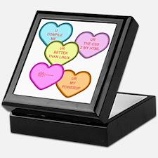 Geek Hearts for Light Keepsake Box