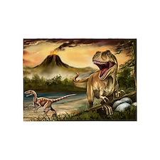 Predator Dinosaurs 5'x7'area Rug