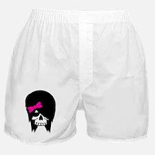 Scene Girl Skull Boxer Shorts
