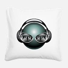 best dj Square Canvas Pillow