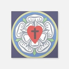 Luther Seal Tile 2 Square Sticker 3&Quot; X 3&Quot