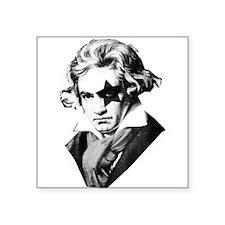 Rock star Beethoven Sticker