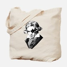 Rock star Beethoven Tote Bag