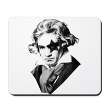Rock star Beethoven Mousepad
