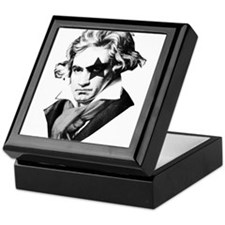 Rock star Beethoven Keepsake Box