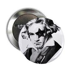 "Rock star Beethoven 2.25"" Button"