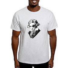 Rock star Beethoven T-Shirt