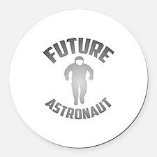 Future Astronaut Round Car Magnet