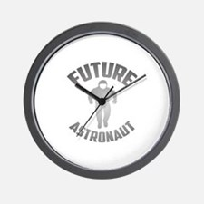Future Astronaut Wall Clock