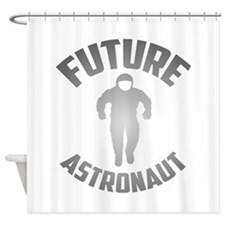 Future Astronaut Shower Curtain