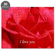 VALENTINE I love you side Puzzle