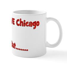 LoveChicagoCardsShirtFront Mug