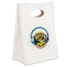 2009 Stax Logo 2400x2400 white B Canvas Lunch Tote