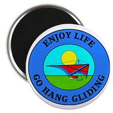 hang gliding4 Magnet