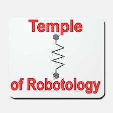 Temple Robotology Dk Grey Mousepad